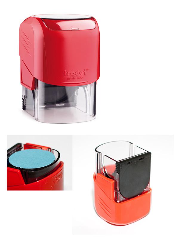 Trodat 3642 автоматическая оснастка для печати d 42 (красная)