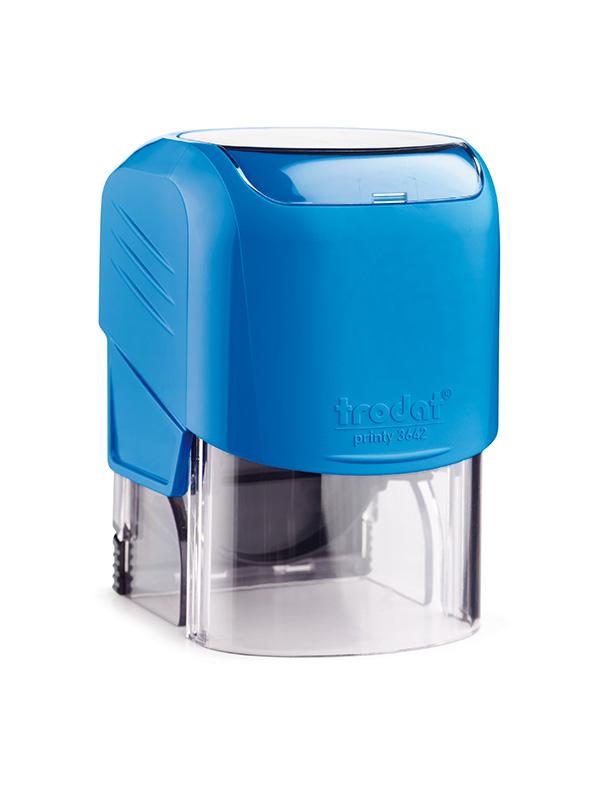 Trodat 3642 автоматическая оснастка для печати d 42 (синяя)