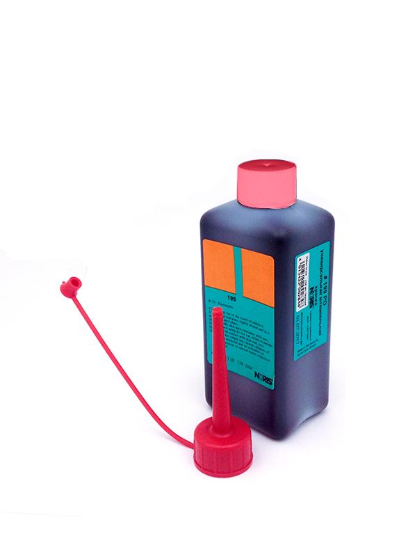 Noris-Color 199PODB универсальная штемпельная краска 250 мл. (красная)