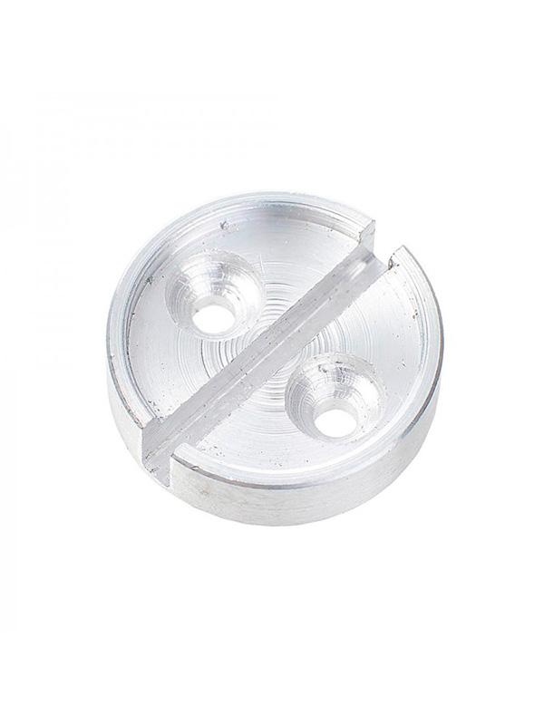 Чашка для опечатывания дверей под нить, (дюраль). д 25мм
