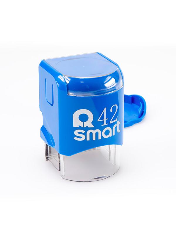 GRM R42 Smart, оснастка для круглой печати D 42 мм, (синий).