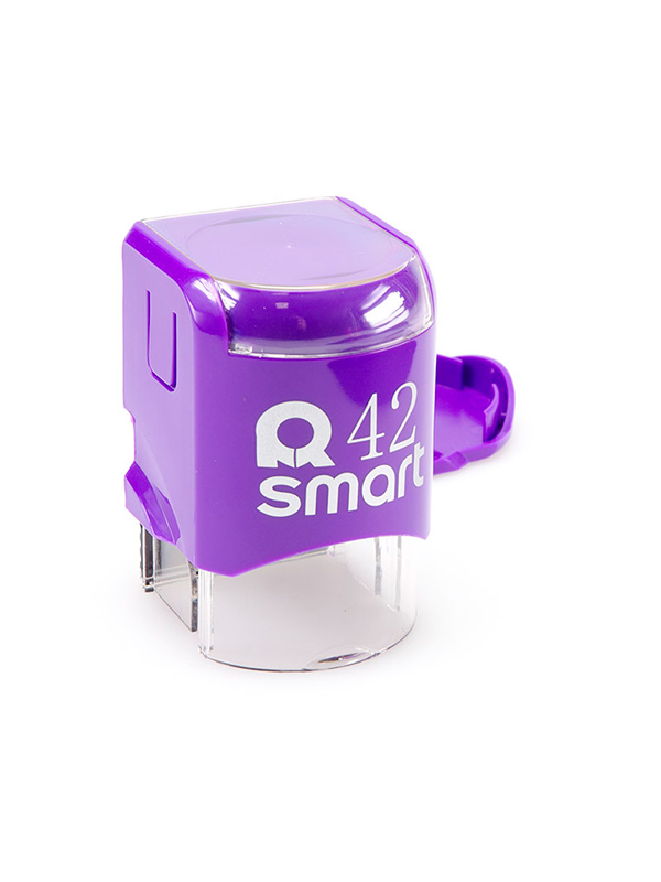 GRM R42 Smart, оснастка для круглой печати D 42 мм, (фиолетовый).
