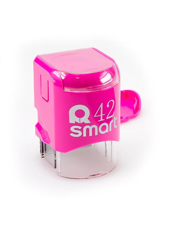 GRM R42 Smart, оснастка для круглой печати D 42 мм, (розовый).