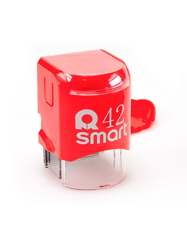 GRM R42 Smart, оснастка для круглой печати D 42 мм, (красный).