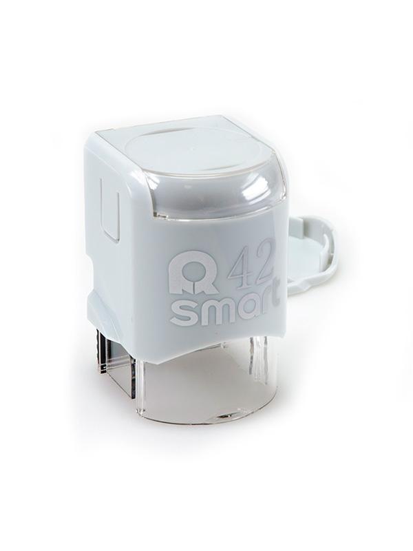 GRM R42 Smart, оснастка для круглой печати D 42 мм, (серый).