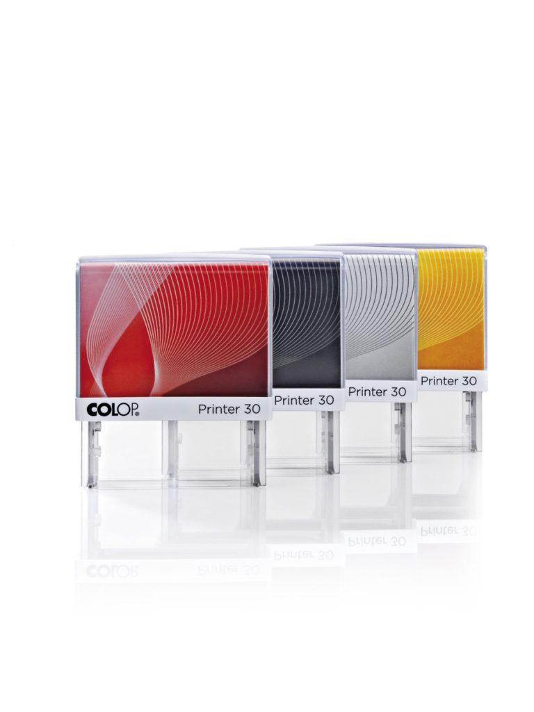Colop Printer 30 оснастка  для штампа 18х47 мм. (радуга/ белая рамка)
