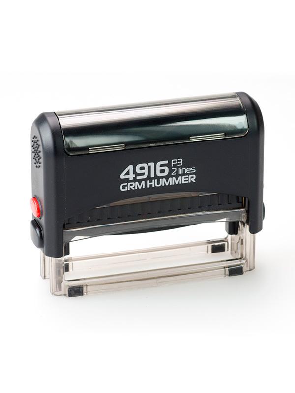 GRM 4916 P3 HUMMER оснастка для штампа 69х10мм 2 строки