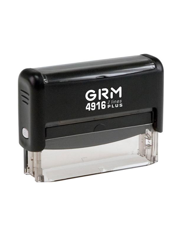 GRM 4916 (15) plus 2 строки  Оснастка для штампа 69х10мм