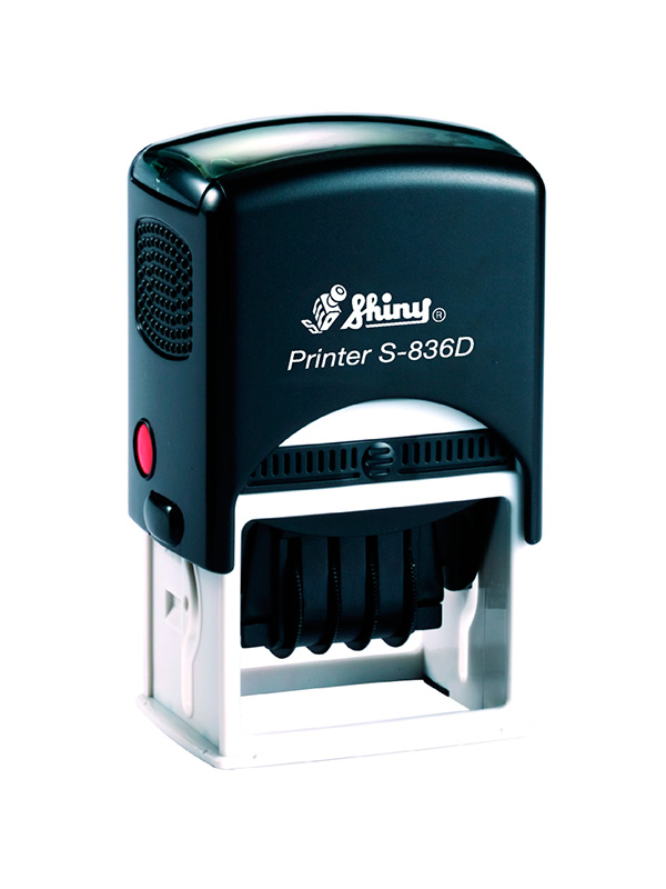 Shiny Printer S-836D Датер с полем для текста (45х30 мм)