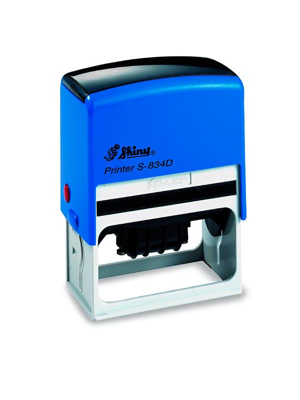 Shiny Printer S-834D Датер с полем для текста (65х30 мм)