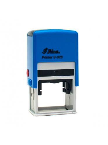 Shiny S-826 Printer оснастка для штампа 41х24 мм (синий)