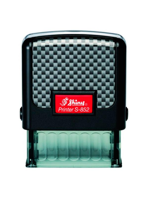 Shiny S-852 Carbon оснастка для штампа 38х14 мм (черная)