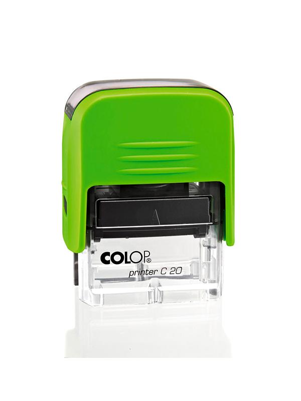 Colop Printer C20 для штампа 14х38 мм. (киви/ прозрачная).