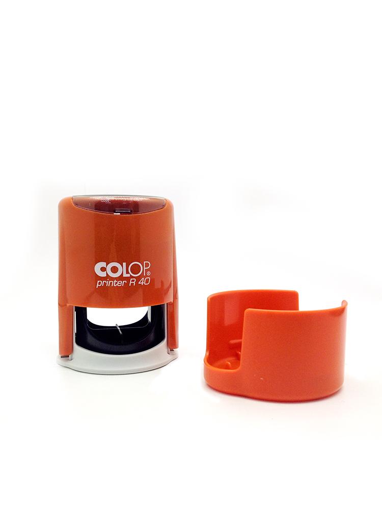 Colop Cover Printer  R40 Orange оснастка для печати с защитной крышкой (оранжевая) (АКЦИЯ)