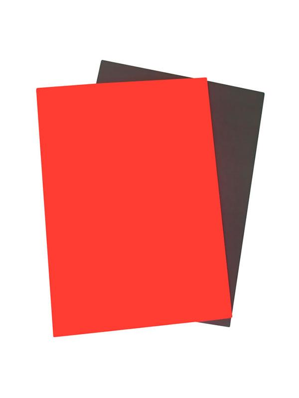 WES Резина для лазерной гравировки Laser Rubber 2,3 мм красный А4