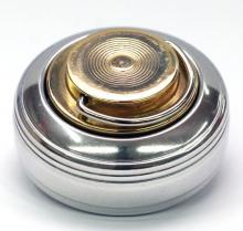К   «Леон-кнопка» d42 мм. Металлическая оснастка для круглой печати.