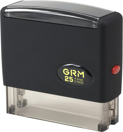 GRM 25  2 Pads   Оснастка для штампа 76х17мм