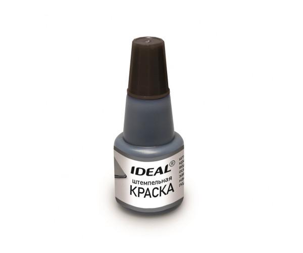 7711 IDEAL штемпельная краска на водной основе, черная, 24мл