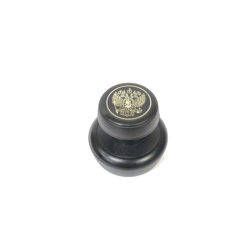 15   (с гербом без надписи). Оснастка для круглой печати со скотчем d 40/42 мм