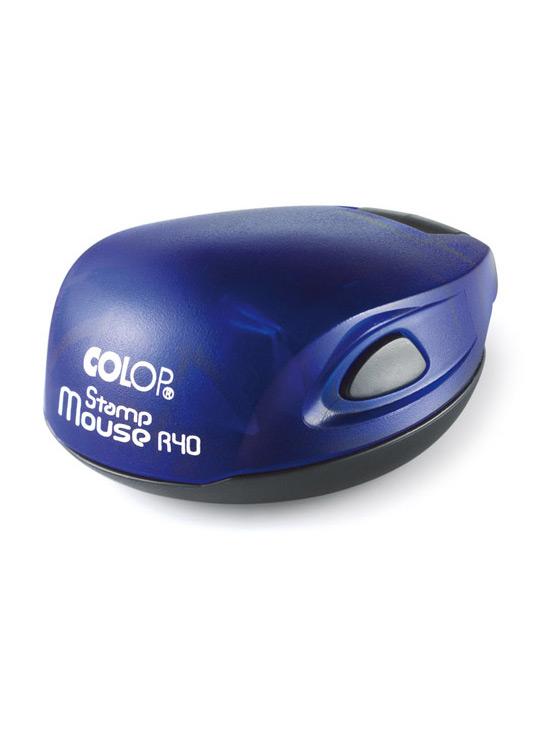 Colop Stamp Mouse R40 Indigo (индиго) оснастка для печати D 40 мм (АКЦИЯ)
