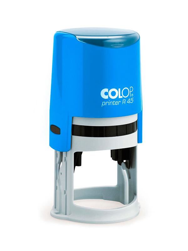 Colop Cover Printer R45 Blue оснастка для  печати с защитной крышкой (синяя).