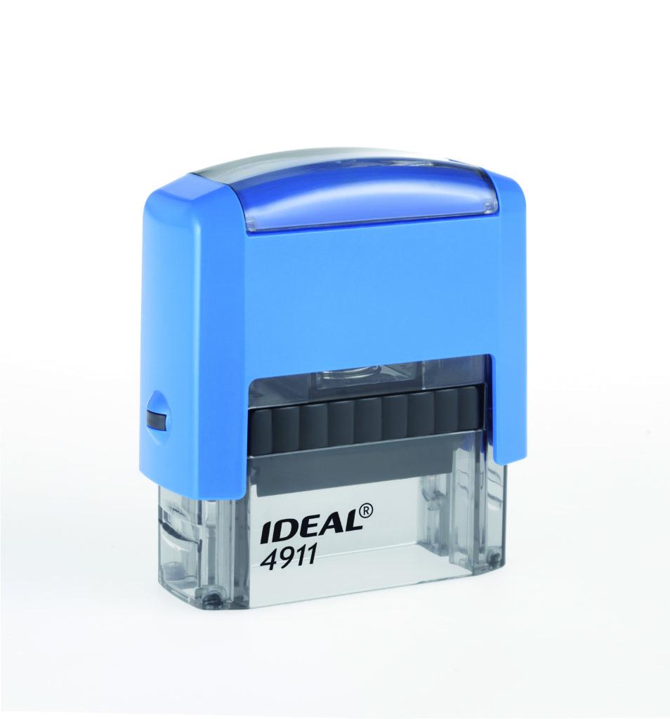 Trodat 4911 Ideal синяя автоматическая оснастка  для штампа 38х14 мм