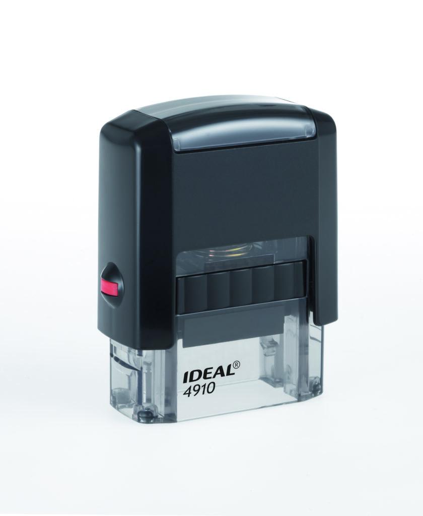 Trodat 4910 Ideal черная автоматическая оснастка  для штампа 26х9 мм