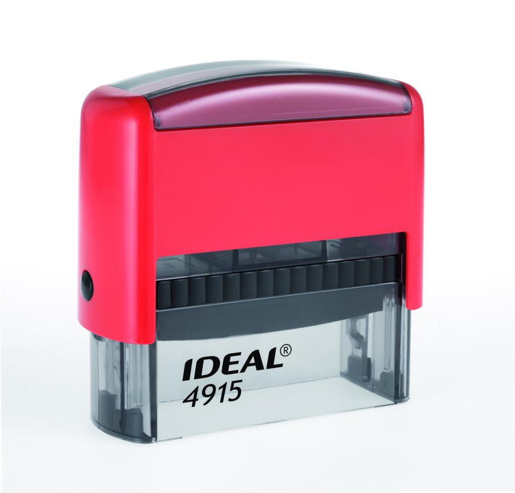 Trodat 4915 Ideal красная автоматическая оснастка  для штампа 70х25 мм