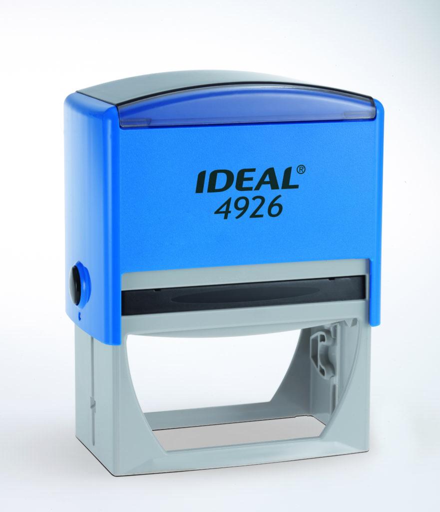 Trodat 4926 Ideal синяя автоматическая оснастка  для штампа 75х38 мм