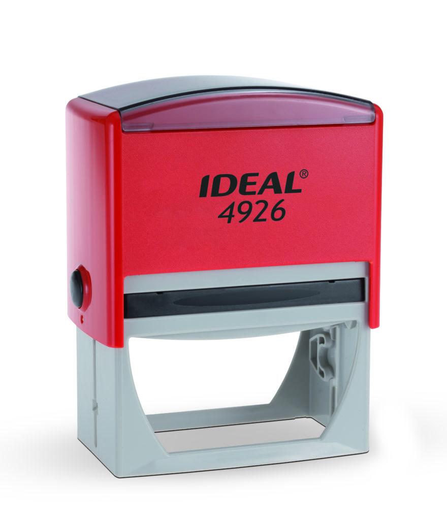 Trodat 4926 Ideal красная автоматическая оснастка  для штампа 75х38 мм
