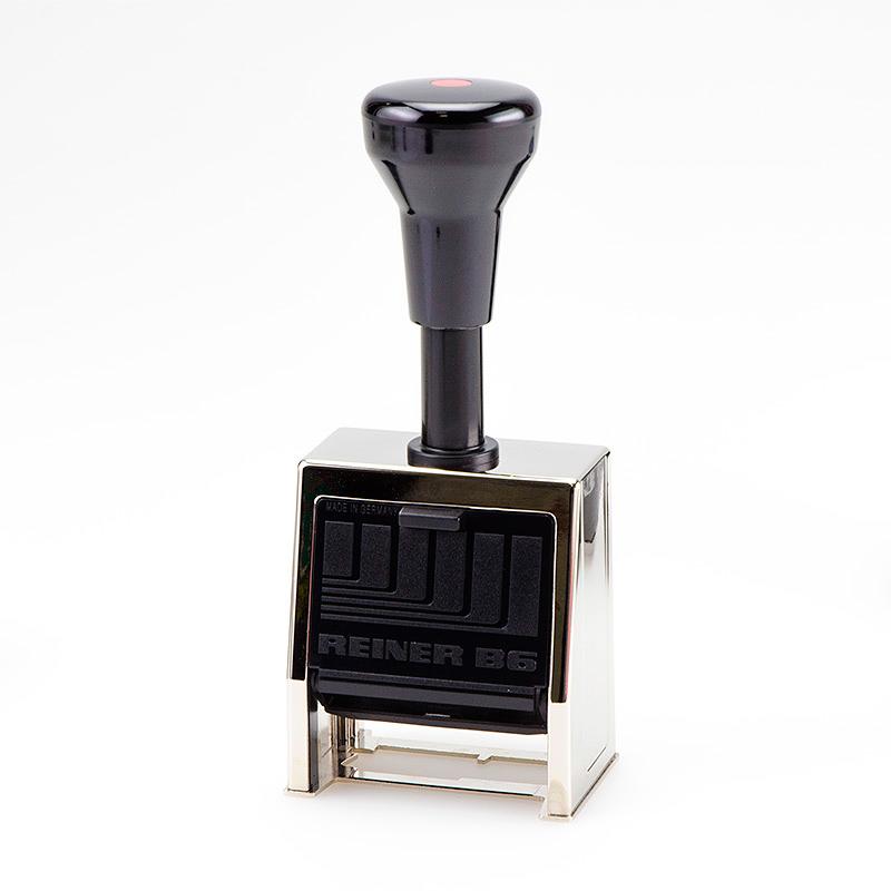 RAINER Автоматический нумметратор металлический  В8К 8 разрядный 4,5мм или 5,5мм