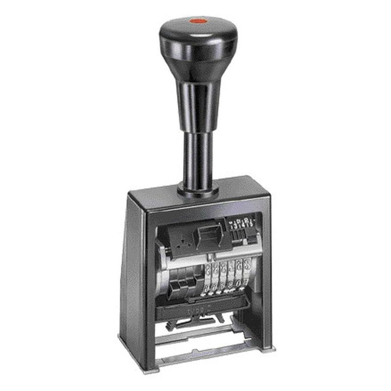 RAINER Автоматический нумметратор металлический В6К 6 разрядный 4,5мм или 5,5мм