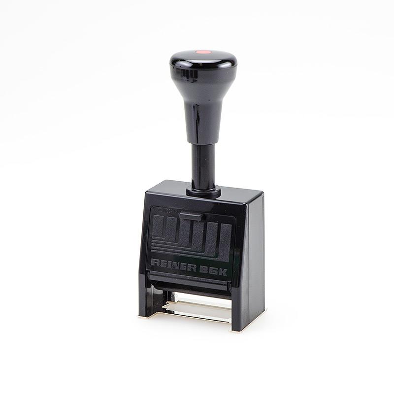 RAINER Автоматический нумметратор пластиковый  В8К 8 разрядный 4,5мм или 5,5мм