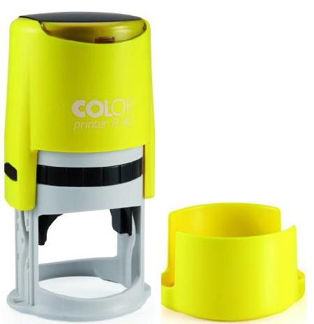 Colop Cover Printer R40 NEON Lemon оснастка для печати с защитной крышкой (неон лимон) (АКЦИЯ)