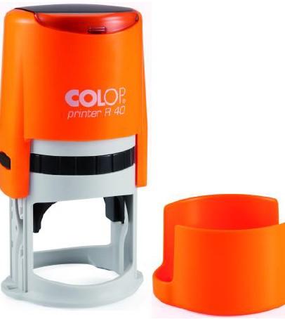 Colop Cover Printer R40 NEON ORANGE оснастка дляпечати с защитной крышкой (неон оранжевый) (АКЦИЯ)