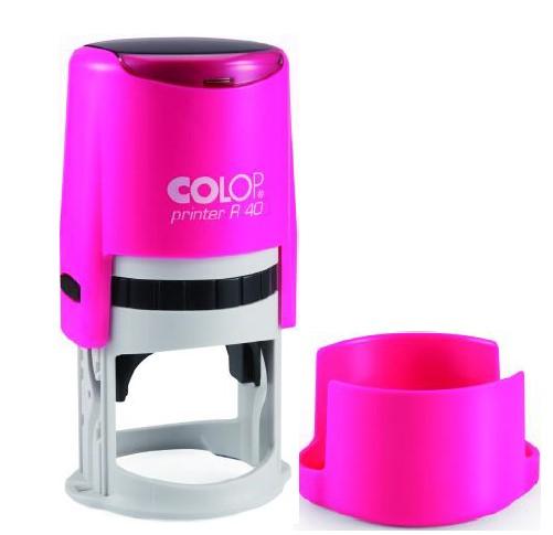 Colop Cover Printer R40 NEON PINK оснастка дляпечати с защитной крышкой (неон розовый) (АКЦИЯ)