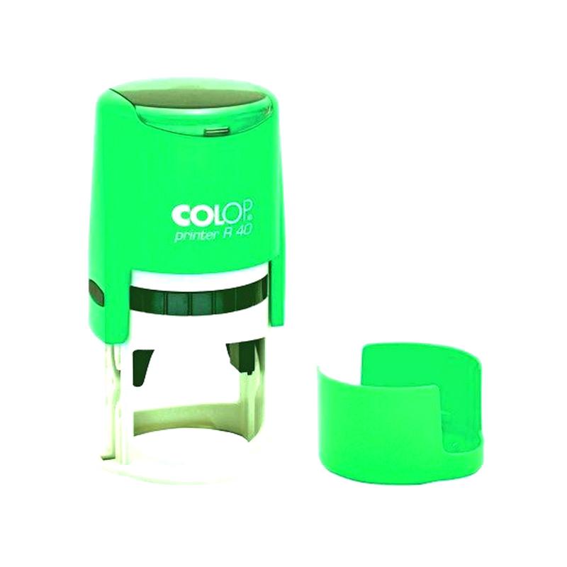 Colop Cover Printer R40 NEON GREEN оснастка для печати с защитной крышкой (неон зеленый) (АКЦИЯ)
