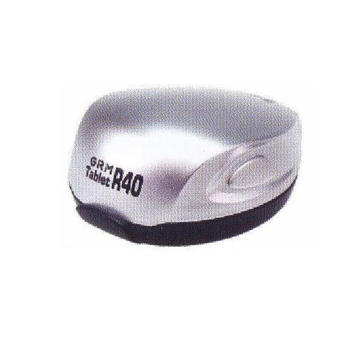 GRM Tablet R40 ручная полуавтомат. карманная оснастка с подушкой для печати D 40 мм (БЕЛЫЙ).