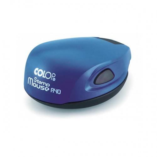 COLOP Stamp mouse R40 cobalt (кобальт) оснастка для печати d 40 мм (АКЦИЯ)
