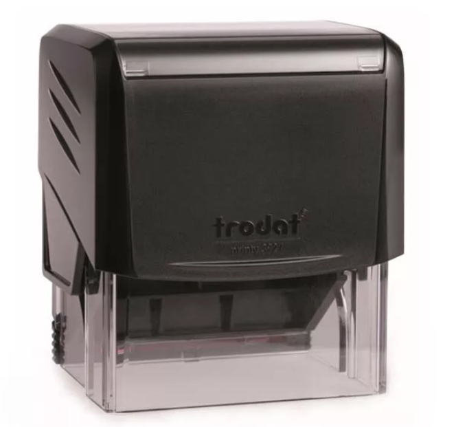 Trodat 3927 PRINTY черная автоматическая оснастка  для штампа 60х40 мм