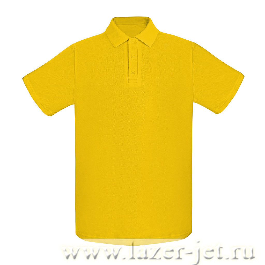 Поло, цвет желтый