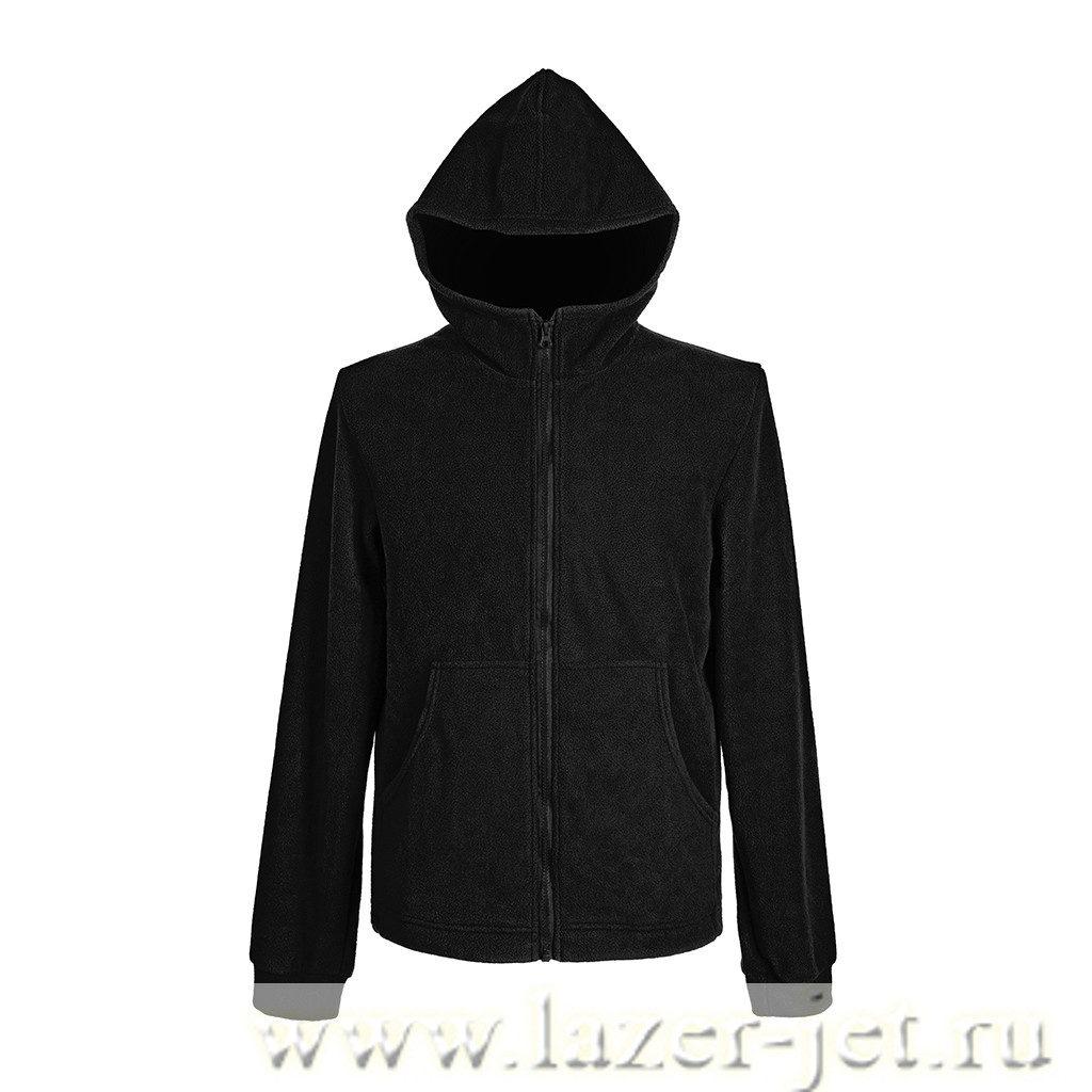 Флисовая куртка с капюшоном